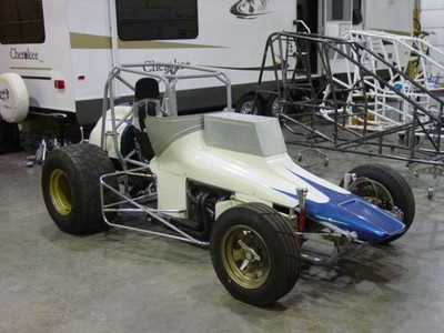 1933 Ford Riley Sprint Car - Restoration Information  Photos