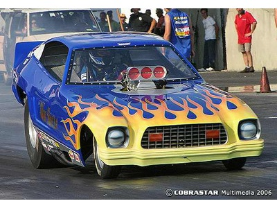 Photo: Blue Max Mustang II | Funny car reference pictures album ...