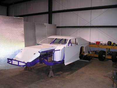 2004 Hoffman Modified Race Car Chassis - Stock Cars Classifieds