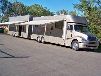 2007 Freightliner Columbia Elite Trailer - Motor Home RV