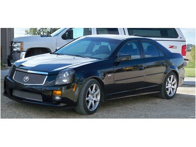 2005 cadillac cts v with 518 hp non competition vehicles. Black Bedroom Furniture Sets. Home Design Ideas