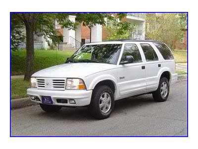 Oldsmobile Bravada 1998 1998 Oldsmobile Bravada