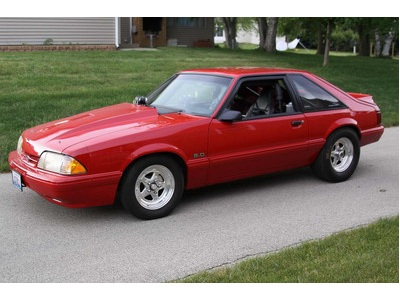 1990 Ford Mustang Drag Car For Sale